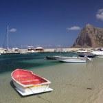 san vito lo capo、シチリア島 — ストック写真