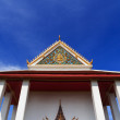 Buddhist Temple of Wat Poramai Yikawat. Koh Kred, Nonthaburi Tha - Stok fotoraf