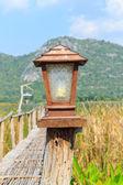 Lamp wood — Stock Photo