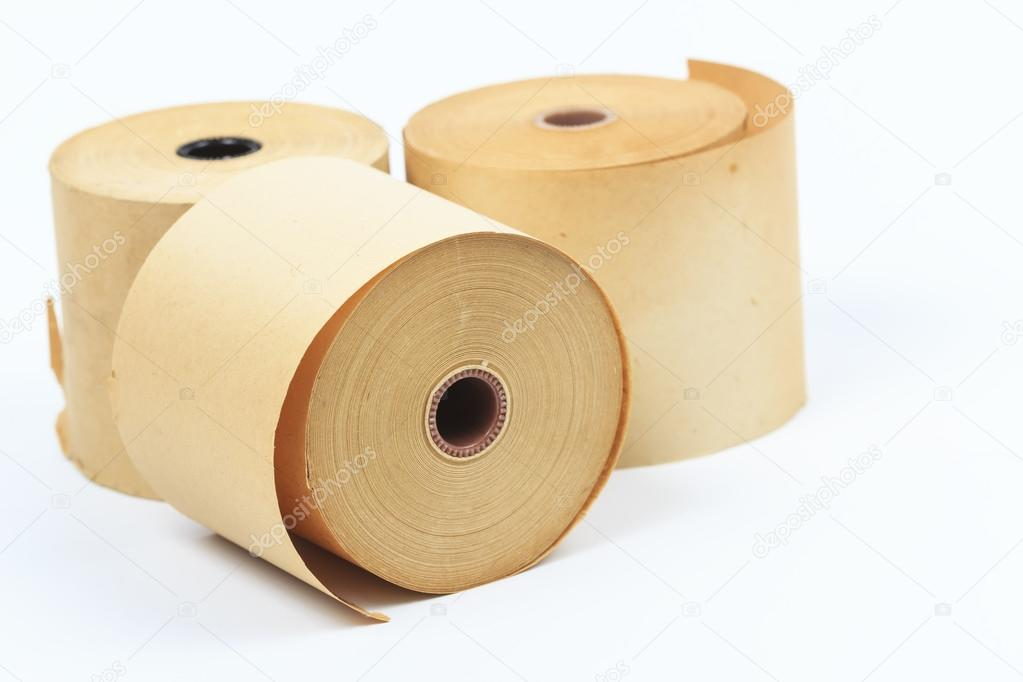 Old paper roll. — Stock Photo #18514165