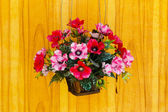 Decoration artificial flower — 图库照片