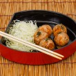 Royalty-Free Stock Photo: Takoyaki : Meat balls as Japanese style.