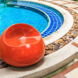 Swimming pool in summer time — Stock Photo #30774417