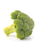 Broccoli vegetable on white background — Stock Photo