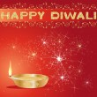 Stock Vector: Diwali greeting card