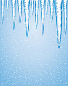 Icicles — Stock Vector