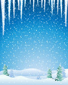 Winter — Stock Vector