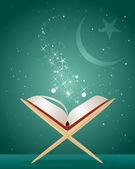 Koranen bakgrund — Stockvektor
