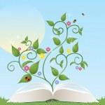 Gardening book — Stock Vector #25756259
