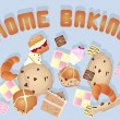 Home baking — Stock Vector