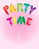 Party time — Stock Vector