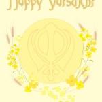 Vaisakhi festival — Stock Vector
