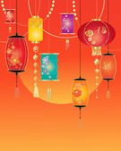 Chinese celebration — Stock Vector