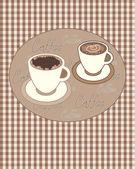 Cosecha de café — Vector de stock