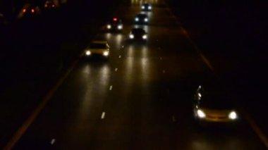 A timelaspe of incomming traffics — Stock Video