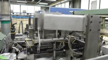 Trimming machine — Stock Video