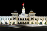 The city hall of Ho chi minh Vietnam — Stock Photo