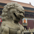 Lion of Tiananmen Square — Stock Photo #24031319