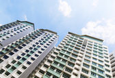 New Singapore Government apartments — Stock Photo