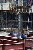Weldling de construção — Foto Stock