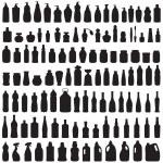 flaska-ikonen — Stockvektor  #48445661