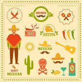 Мексика — Cтоковый вектор