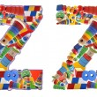 Wooden toys alphabet - letter Z — Stock Photo #35639167