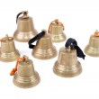 Antique handbells — Stock Photo #35641059