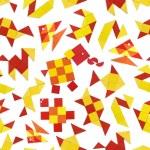 Seamless pattern with animals — Stock Photo #43363043