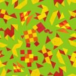 Seamless pattern with animals — Stock Photo #43363069