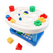 Shape Sorter. Childs toy shape sorter — Stock Photo