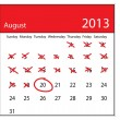 Royalty-Free Stock Imagen vectorial: Calendar
