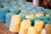 Spools of yarn — Foto de Stock
