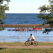 Stock Photo: Summer on Lake Ontario