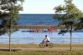 Summer on Lake Ontario — Stock Photo