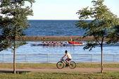 Summer on Lake Ontario — Stock Photo