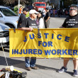 Injured Workers Rights - Zdjęcie stockowe