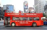 Sightseeing Tour Bus — Stock Photo