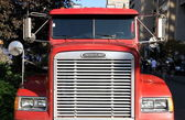 Truck Front Grille — Stock Photo