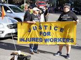 Praw poszkodowanych pracowników — Zdjęcie stockowe