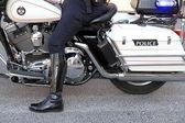 Toronto Police Motorbike — Stock Photo