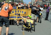 Justice for Injured Workers — Stock Photo