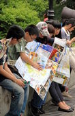 Tourists in Macau — Stock Photo