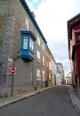 Quebec stadt-straße — Stockfoto