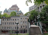 Quebec City Chateau Frontenac — Stock Photo