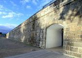 стены города квебек — Стоковое фото