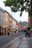 Quebec City Street — Stock Photo