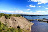 Quebec Landscape — Stock Photo
