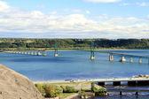 Puente sobre el río san lorenzo — Foto de Stock