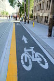 Bike Lane — Foto Stock